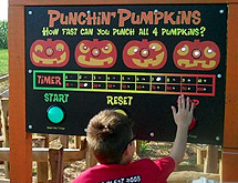 Punchin Pumpkins Maze & Game