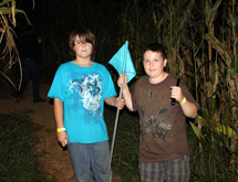 Flashlight Nights in the Corn Maze - Plympton, MA