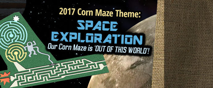 2017 Corn Maze Theme - Space Exploration
