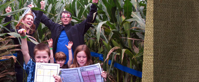 Giant Corn Maze - Plympton, Massachusetts