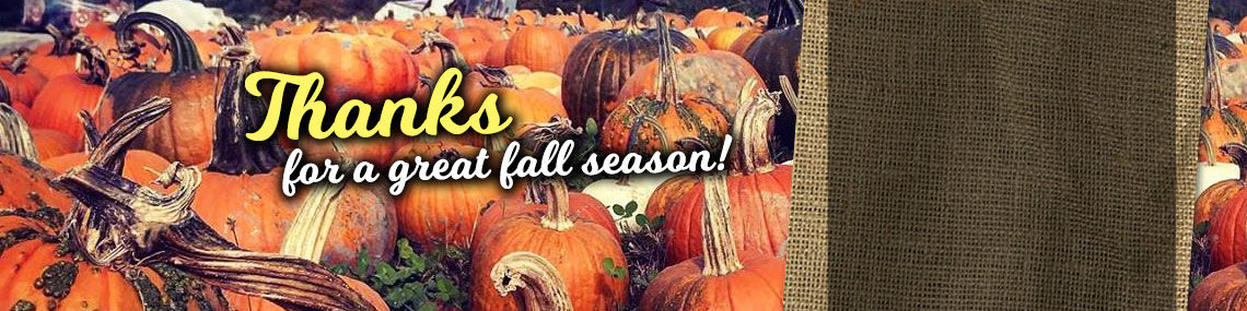 Thanks for a great fall season!
