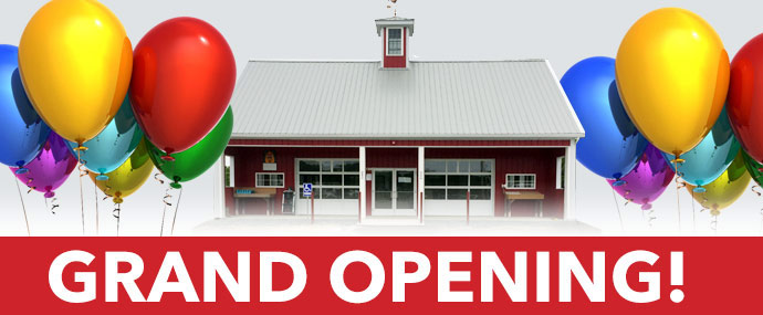 Grand Opening of the Farm Stand